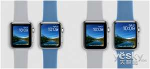 Full screen Apple Watch exposure: The size of the body is unchanged, the screen is bigger